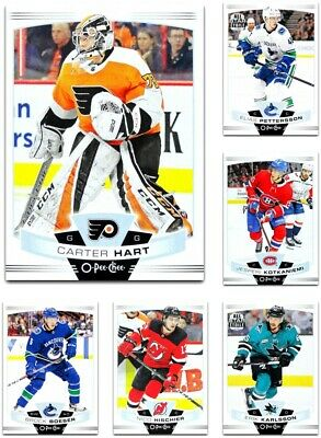 2019-20 O-Pee-Chee **** PICK YOUR CARD **** From The Base SET  [1-250]