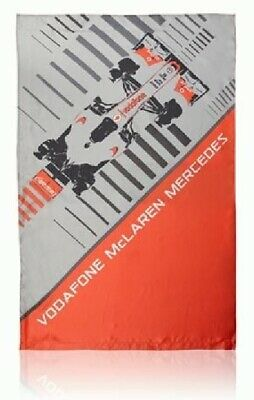 Flag Formula One 1 Vodafone McLaren Mercedes F1 Team Rocket Red VMM Car V08 CA