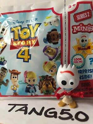 New Disney Pixar Toy Story 4 Series 2 Minis Forky Mystery Blind Bag Figure Rare