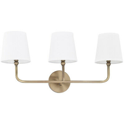Capital Lighting Fixtures 119331AD-674 Dawson Bathroom Vanity Light Aged Brass