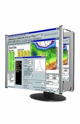 Kantek Mag19wl Magnifying Screen Filter For Widescreen Monitor Silver