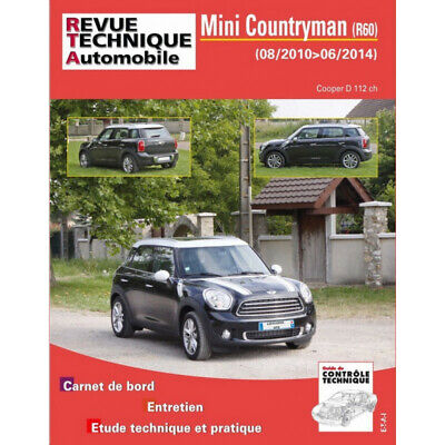 REVUE TECHNIQUE MINI COUNTRYMAN de 2010 à 2014 - RTA B786 / 9782726878651