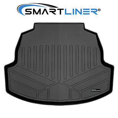SMARTLINER Custom Floor Mats and Cargo Liner Set Black for 2017-2019 Honda Civic Hatchback No Sport or Sport Touring Models