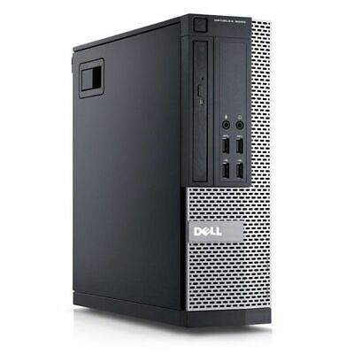 Dell Optiplex 9010 SFF PC Core i7 3.4GHZ Quad Core 32GB 500GB SSD Win 10 Pro