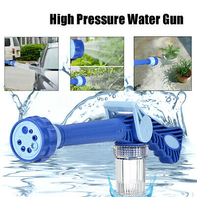 High Pressure Power Washer Spray Gun 8 Settings Car Watering Cleaner Foam Gun