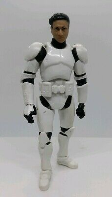 "HASBRO Star Wars  the clone wars CLONE TROOPER COMMANDER ACTION Figure 3.75/"" #J7"