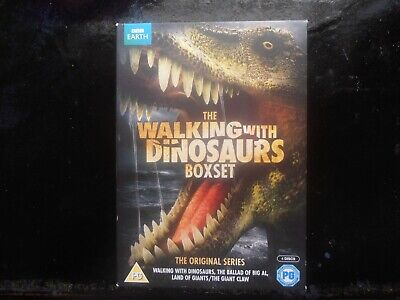 The Walking With Dinosaurs BBC Series Complete Collection DVD 4 - Disc Box Set