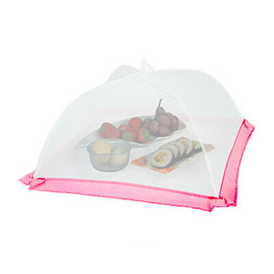 1pc Foods Lid Portable Folding Anti-flies Food Cover Gadget for Hotel Restaurant