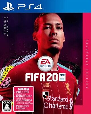 FIFA 20 Champions Edition Sony PlayStation 4 Video Game From Japan Pre Order