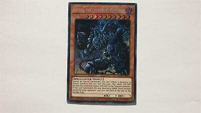 "YUGIOH!! ""Exodia, the Legendary Defender"" TN19-EN003! Prismatic ScR! NM! 1. Ed!"