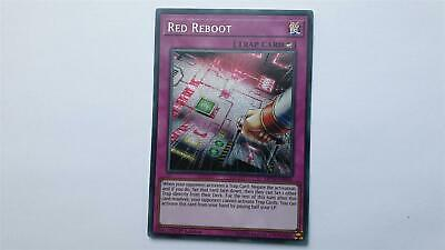 "YUGIOH!! ""Red Reboot"" MP19-EN046! Prismatic Secret Rare! Near Mint! 1. Edition!"