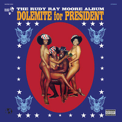 Rudy Ray Moore Dolemite For President (1972)  Lp  2016  Paint White House Black