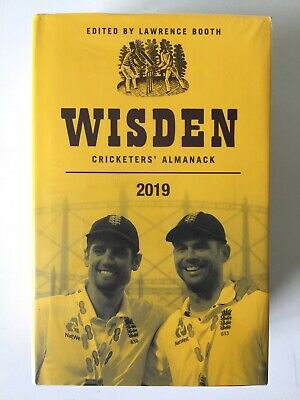 WISDEN CRICKETERS' ALMANAC 2019 by Lawrence Booth (CHEAPEST LISTED!!)