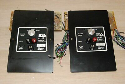Vintage Pair of ESS amt1 crossover network