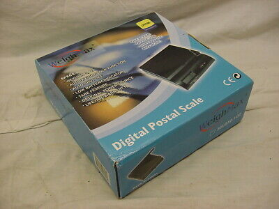 Weight Max 35 Lb Postal Scale - Blue - Never Used in Box