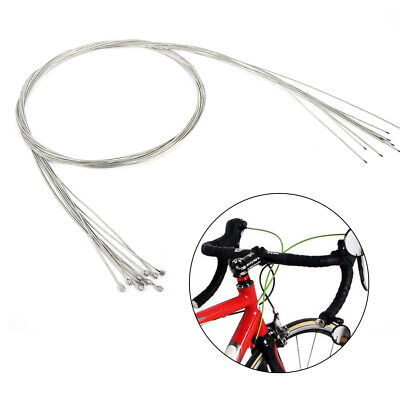 10PCS/Set Bicycle Shift Shifter Derailleur Gear Stainless Steel Inner Cable Wire