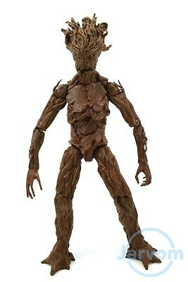 """Marvel Legends 6"""" Inch EE Earth Guardians of the Galaxy Groot Loose Complete"""