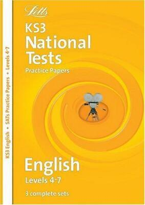 Letts Key Stage 3 Practice Test Papers - KS3 English National Test Practice Pape