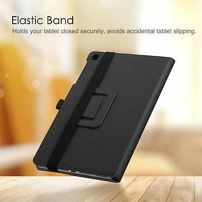 PU Leather Folio Case for Samsung Galaxy Tab A 10.1 2019 SMT510/T515 Stand Cover