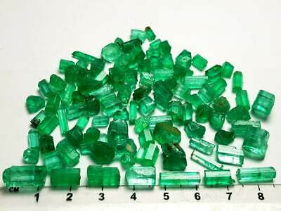 136-Ct Top Facets Grade Natural Clean Rough Emerald Lot From Panshir Afg