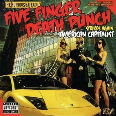FIVE FINGER DEATH PUNCH American Capitalist CD BRAND NEW