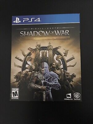 Middle-Earth: Shadow Of War Gold Steelbook Edition - Sony PlayStation 4