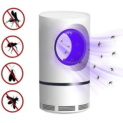 Electric Fly Bug Zapper Mosquito Insect Killer LED UV Light Trap Lamp Catcher