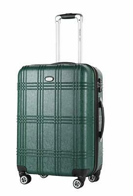 TRAVEL JOY Expandable 20in Carry on Suitcase Hardside Luggage Built-in TSA Lock