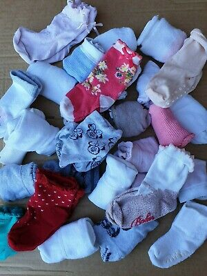 Bundle!Girls 30 Pairs of Socks, Age 0-24M Ted Baker, Carlomagno, Next, Zara, M&S