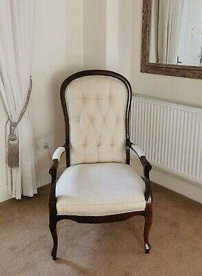 Victorian Style Balloon Backed Chair