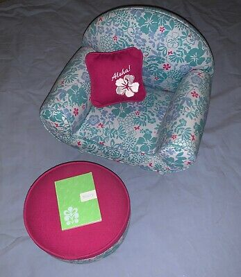 Amazing American Girl Kanani Chair Ottoman And Ukelele Set Unemploymentrelief Wooden Chair Designs For Living Room Unemploymentrelieforg
