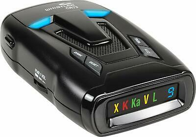 Whistler CR73 High Performance Laser Radar Detector: 360 Degree Protection