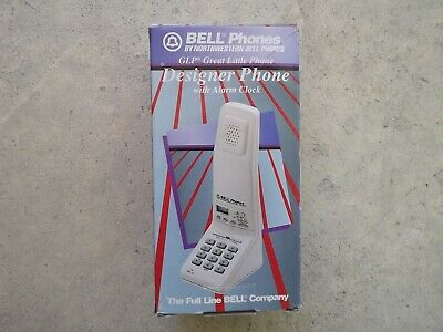 Vintage Northwestern Bell Stand Up GLP Great Little Phone Alarm Clock New in Box