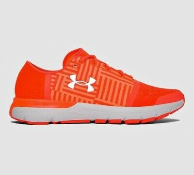 uk availability 4b7c8 78a21 UNDER ARMOUR SPEEDFORM GEMINI 3 TRAINERS MEN'S SNEAKERS 1285652-297 Sz 12  Orange