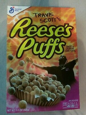 Travis Scott Reeses Puff Cereal Limited Edition SOLD OUT