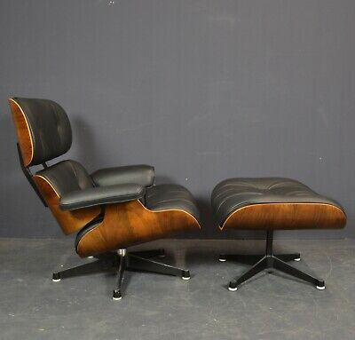 Charles Eames Lounge Chair + Ottoman 1960er Jahre Herman Miller/Vitra mit Cites