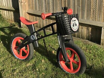 Amazing Firstbike Balance Bike With Brake Basket In Pink Pdpeps Interior Chair Design Pdpepsorg