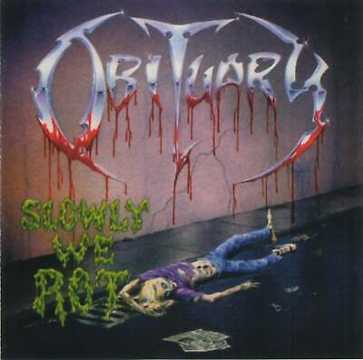 OBITUARY - SLOWLY WE ROT (1989) American Death Metal CD Jewel Case+FREE GIFT