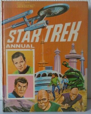 Vintage Star Trek Annual 1970 (copyright 1969) in very good condition