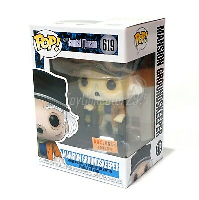 Funko Mansion Grounds Keeper 619 Box Lunch Exclusive Disney The Haunted Mansion