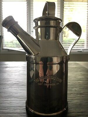 Silverplate Watering Can Cocktail Pitcher The Homestead Club Reed & Barton 32oz