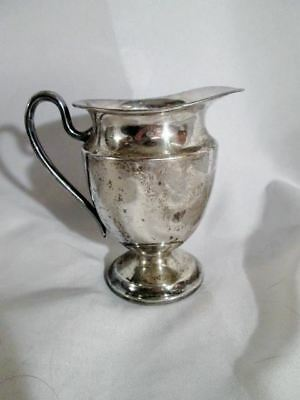 Signed ROGERS SILVERPLATE Handle TEAPOT KETTLE Pitcher
