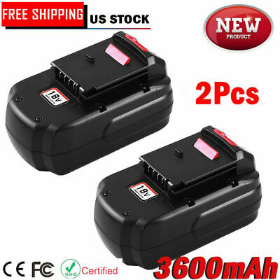 Replace For Porter Cable PC18B 18V Battery 18 Volt NI-MH Cordless PCC489N PCXMVC