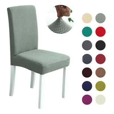 Stretch Dining Chair Cover Removable Slipcover Banquet Furniture Covers Washable