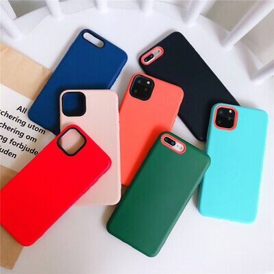 Case For iPhone 11 Pro Max XS Max XR X 8 7 6s 6 Ultra Slim Liquid Soft Silicone