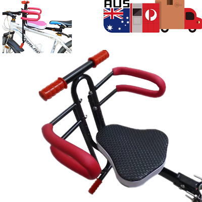 Baby Kids Bicycle Safety Seat Bike Front Seat Chair Carrier Outdoor Protect Seat