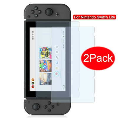 2Pack 9H Premium Tempered Glass Screen Protector Guard for Nintendo Switch Lite