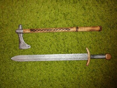 Sword and ax for little knights  Viking  9 - 13 AD (copy)