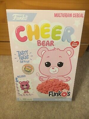 Funko Pocket Pop Cereal Cheer Bear Care Bears Funko's Box Lunch Exclusive