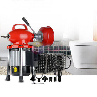 "3/4""-4""Dia Sectional Drain Cleaner Machine Professional Sewage Cleaning Machine"